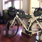 På Hotel Vladimir i Usti Nad Labem fikk sykkelen min overnatte i den stengte pianobaren.