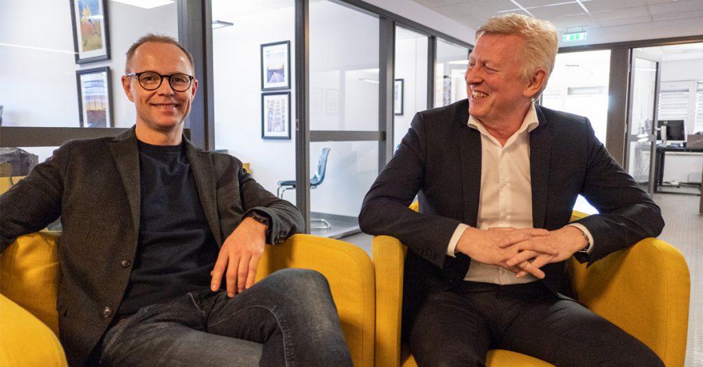 Nils Bernhard Nilssen og Einar Gynnild i Business Analyze