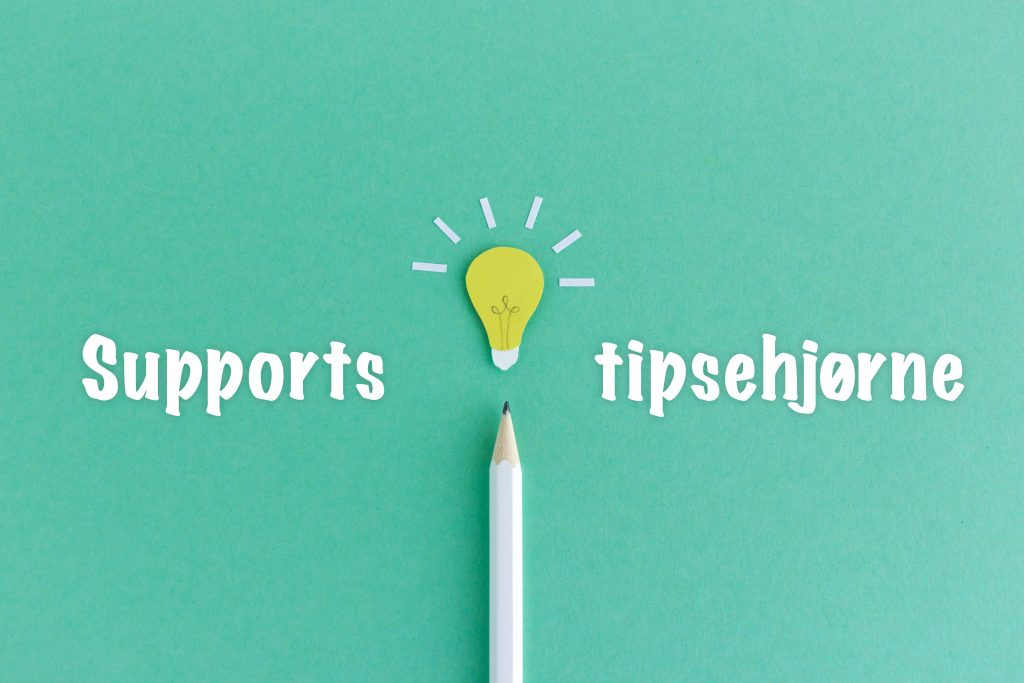 Supports tipsehjørne #3