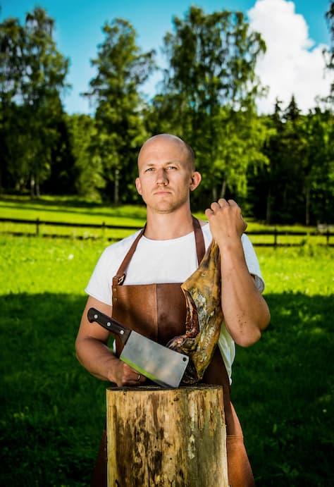 Daglig leder på Ask Gård, Kristoffer.