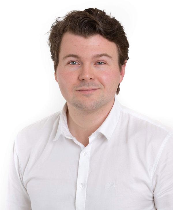Sondre Tørdal er daglig leder i Motiontech
