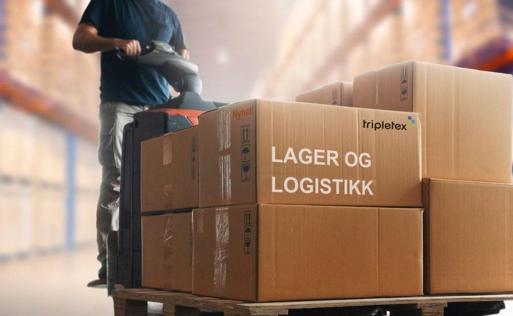 Nyhet! Lager og logistikk i Tripletex